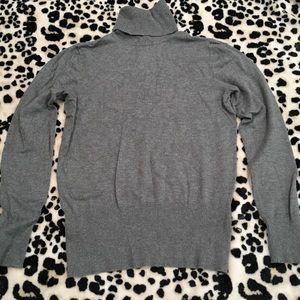 APT 9 Gray Turtleneck Sweater